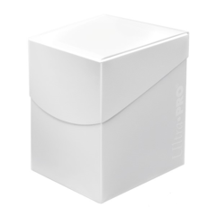 ULTRA PRO: ECLIPSE DECK BOX - ARCTIC WHITE PRO 100+ 85682