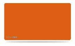 Ultra-Pro Mono Solid Orange Playmat  14 x 24 inches (84231)