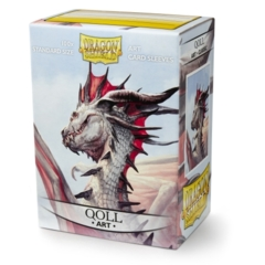 DRAGON SHIELD SLEEVES: ART CLASSIC QOLL 100C (BOX OF 100) - LIMITED EDITION