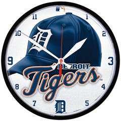 Detroit Tigers Clock Round Wall  12.75