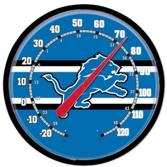 Detroit Lions Round Thermometer 12.75