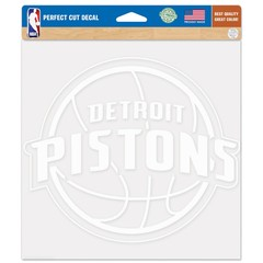 Detroit Pistons    Perfect Cut Decals   8
