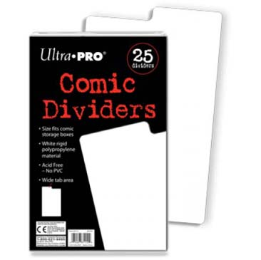 Ultra-Pro Comic Dividers Package (1 pc)