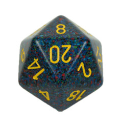 Chessex D20 34mm Speckled Dice, Twlight  (CHXXS2006)