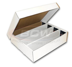 Cardboard Box 3200 Count with Lid BCW (Monster)