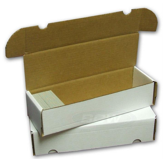 Cardboard Box  660 Count BCW
