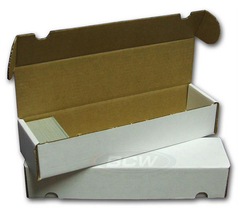 Cardboard Box  800 Count with Lid BCW