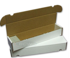 Cardboard Box  930 Count BCW