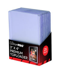 Ultra-Pro Top Loader 3X4  35PT Clear Premium (81145)