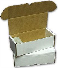 Cardboard Box  500 count card BCW