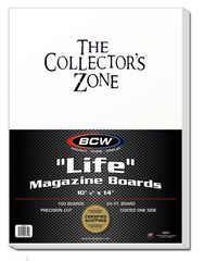 BCW Life Magazine Boards (100)