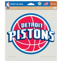 DETROIT PISTONS PERFECT CUT COLOR DECAL 8