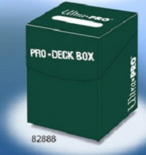Ultra-Pro 100+(EDH) Pro Green Deck Box (82888)