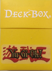 Ultra Pro Standard Yu-Gi-Oh labeled Deck Box in Yellow