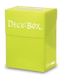 Ultra Pro Standard Bright Yellow Deck Box (84227)