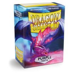 Dragon Shield Box of 100 Matte Purple