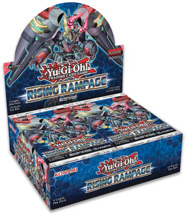 YU-GI-OH CCG: Rising Rampage 1st Edition Booster Box