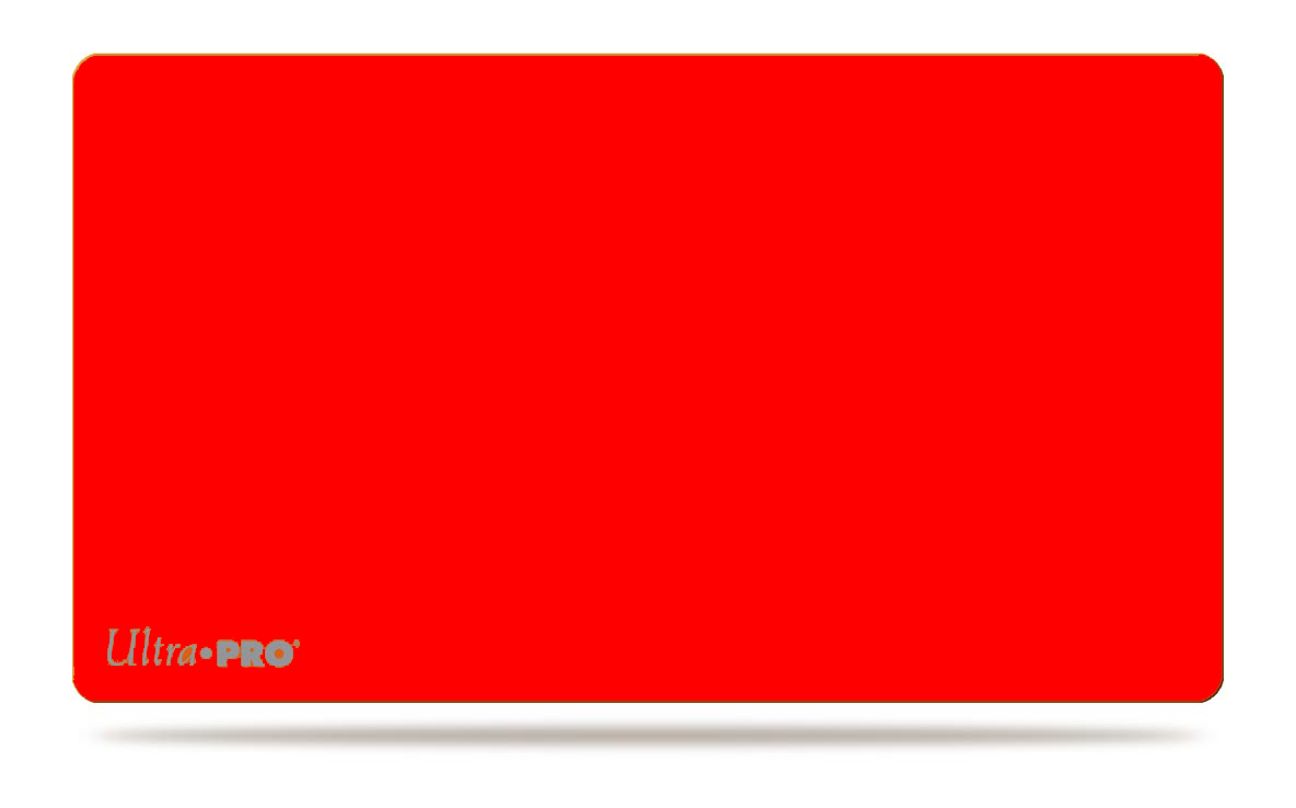 Ultra-Pro Mono Solid Red Playmat 14 x 24 inches (84084)