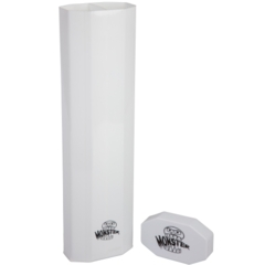 *NEW* MONSTER PRISM DUAL PLAYMAT TUBE - OPAQUE WHITE WITH WHITE CAP