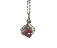 *NEW* Pendant: d6 w/#s with Old Silver Finish (53102)