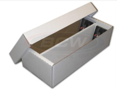 Cardboard Box 1600 ct with Lid (Shoe Box)