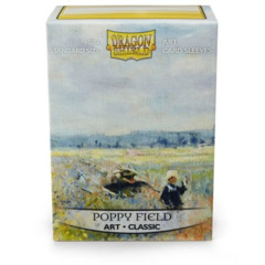 DRAGON SHIELD SLEEVES: ART CLASSIC - POPPY FIELD (BOX OF 100) LIMITED EDITION