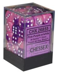 Gemini Pink/Purple 12mm d6 (26855)