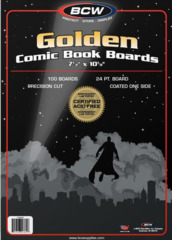 BCW Golden Comic Backing Board