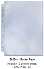 Ultra-Pro (1) Pocket Page(s) 8 x 10