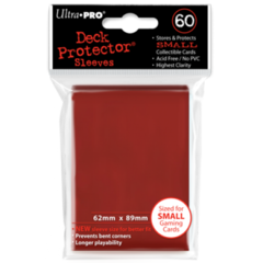 Ultra Pro 60ct Yugioh Sized Sleeves - Red (82967)