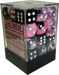 Gemini Black and Pink 12mm D6 (26830)