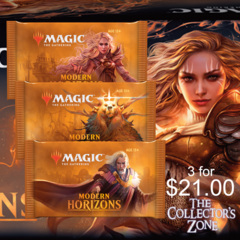 3 Modern Horizons Booster Packs for $21.00