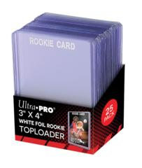 Ultra-Pro Top Loader 3X4  35PT White Rookie (81356)
