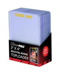 Ultra-Pro Top Loader 3X4  35PT Gold Rookie (81180)