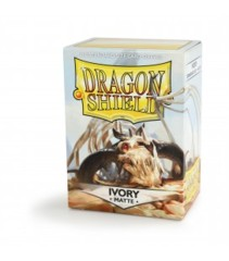 Dragon Shield Box of 100 Matte Ivory