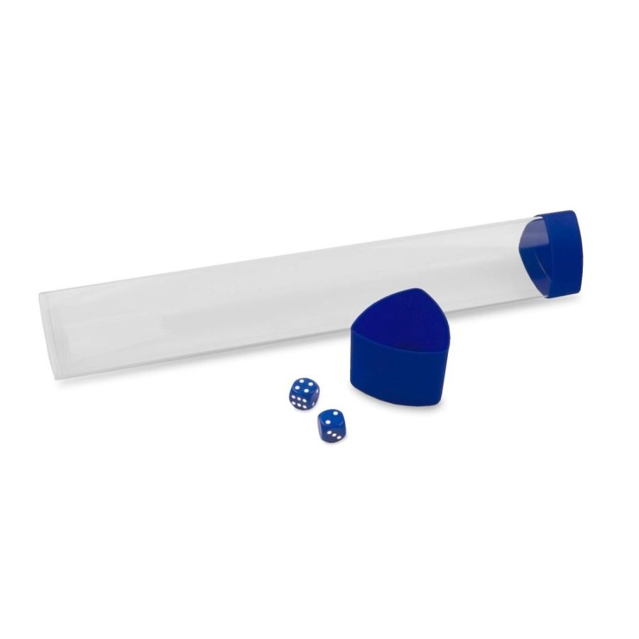 Monster Playmat Tube Dice/Cap Blue