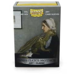 DRAGON SHIELD SLEEVES: ART CLASSIC - WHISTLER'S MOTHER (BOX OF 100) LIMITED EDITION