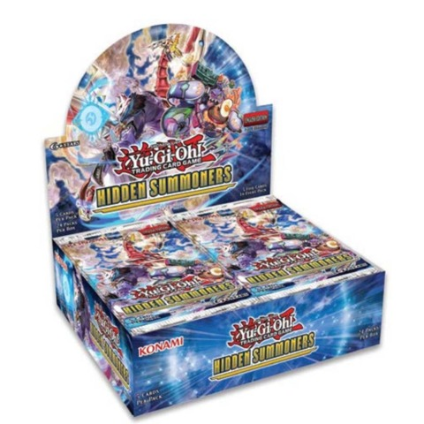 YU-GI-OH CCG: Hidden Summoners Booster Box