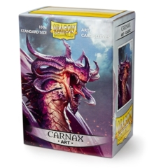 DRAGON SHIELD SLEEVES: ART CLASSIC CARNAX (BOX OF 100) - LIMITED EDITION