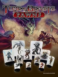 Kobold Press 5th Edition Tome of Beasts Pawns