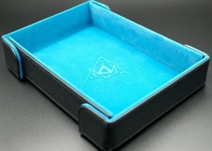 Die Hard Magnetic Folding Dice Tray Teal