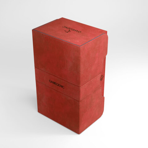 Gamegenic Stronghold 200+ Convertible Deck Box Red
