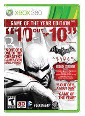 Microsoft Xbox 360 (XB360) Batman Arkham City Game of the Year Edition [In Box/Case Complete]