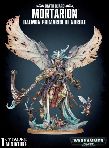 Warhammer 40k Death Guard Mortarion Daemon Primarch of Nurgle