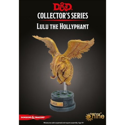 D&D Collectors Series Lulu the Hollyphant Unpainted Figure