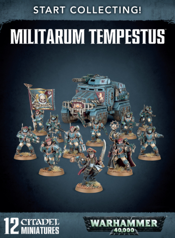 Warhammer 40k Start Collecting! Militarum Tempestus