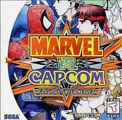 Sega Dreamcast Marvel vs Capcom Clash of Super Heroes [Loose Game/System/Item]