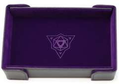 Die Hard Magnetic Folding Dice Tray Purple