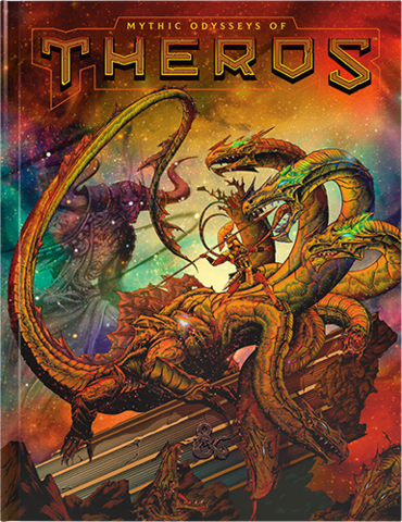 D&D 5th Edition Mythic Odysseys of Theros Hobby Store Exclusive Cover