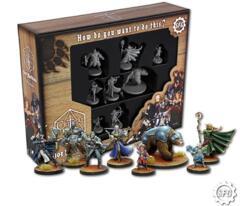 Steam Forge Games Critical Role Vox Machina Unpainted Miniatures Set